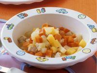 Gemüse mit Huhn Rezept
