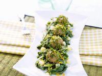 Gemüse mit Wurstbällchen Rezept