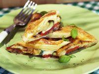 Gemüse-Pie auf mediterrane Art Rezept