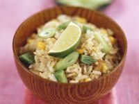 Gemüse-Reis-Pfanne auf Thai-Art Rezept