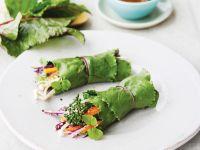 Gemüse-Salat-Wraps Rezept