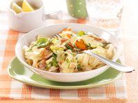 Gemüse-Tagliatelle Rezept