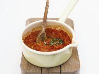 Gemüse-Tomaten-Soße Rezept