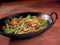 Gemüse-Wok-Pfanne Rezept