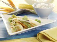 Gemüse-Wok-Pfanne mit Melone Rezept