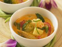 Gemüsecurry auf thailändische Art Rezept