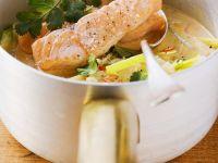Gemüsecurry mit Lachs