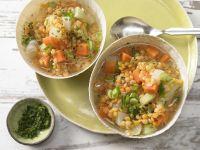 Gemüseeintopf mit Linsen