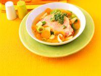 Gemüseeintopf mit Kasseler und Schnittlauch-Pesto Rezept