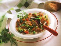Gemüseeintopf mit Wiener Würstchen Rezept