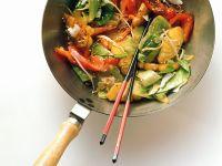 Gemüsegericht aus dem Wok Rezept