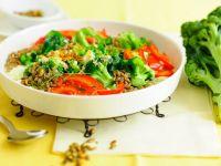 Gemüsegratin mit Grünkern Rezept
