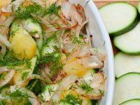 Gemüsegratin mit Zucchini und Kartoffeln Rezept