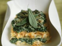 Gemüselasagne mit Salbei Rezept