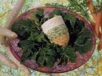 Gemüsemousse auf Rauke