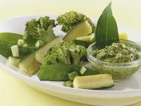 Gemüsepfanne mit Pesto Rezept