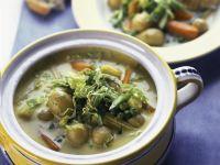 Gemüseragout mit jungen Kartoffeln Rezept