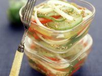 Gemüserelish mit Tomaten und Paprika Rezept