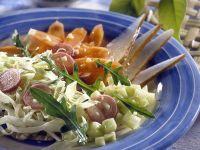 Gemüsesalat mit Birne Rezept