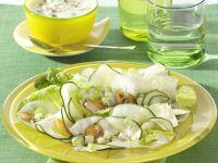 Gemüsesalat mit fruchtigem Dressing Rezept