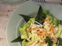 Gemüsesalat mit Joghurtdressing Rezept
