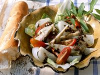 Gemüsesalat mit Olivencreme (Tapenade) Rezept