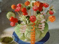 Gemüsespieße Rezept