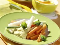Gemüsesticks Rezept
