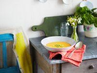 Gemüsesuppe aus dem Backofen Rezept