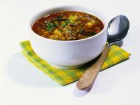 Gemüsesuppe mit Pilzen Rezept