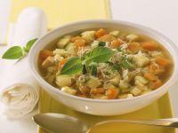 Gemüsesuppe mit Pute Rezept