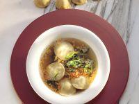 Gemüsesuppe mit Ravioli Rezept