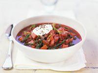 Gemüsesuppe mit Wirsing Rezept