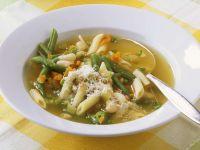 Gemüsesuppe nach italienischer Art Rezept