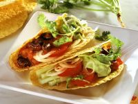 Gemüsetacos mit Avocado Rezept