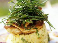 Gemüsetörtchen mit Fisch Rezept