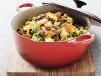 Gemüsetopf mit Sahnesoße Rezept