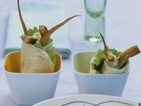 Gemüsewraps mit Kürbis Rezept