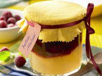 Geschichtete Himbeer-Melonen-Marmelade Rezept