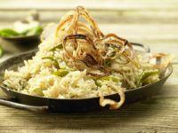 Geschmorter Reis Rezept