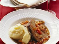 Geschmorter Rinderbraten auf toskanische Art Rezept