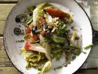 Geschmorter Römersalat Rezept