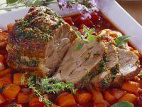 Geschmorter Schweinenacken mit Möhren Rezept