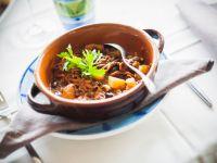Geschmorter Tintenfisch nach ligurischer Art Rezept