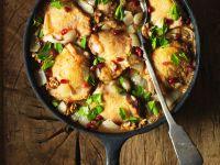 Geschmortes Hähnchen mit Nüssen Rezept