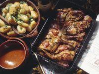 Geschmortes Kaninchen (Jägerart) Rezept