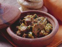 Geschmortes Lammfleisch auf marokkanische Art Rezept
