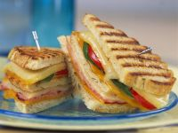 Getoastetes Clubsandwich Rezept