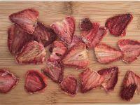 Erdbeer-Chips selber machen