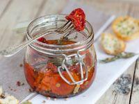 Getrocknete Tomaten in Öl eingelegt Rezept